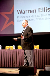 Branding expert and franchise marketing speaker Warren Ellish