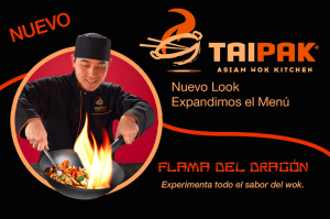 Tai Pak billboard by Ellish Marketing Group - new menu