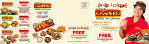 Pollo Campero direct mail piece by Ellish Marketing Group