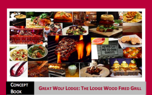 Wood Firfed Grill Concept Book by Ellish Marketing Group