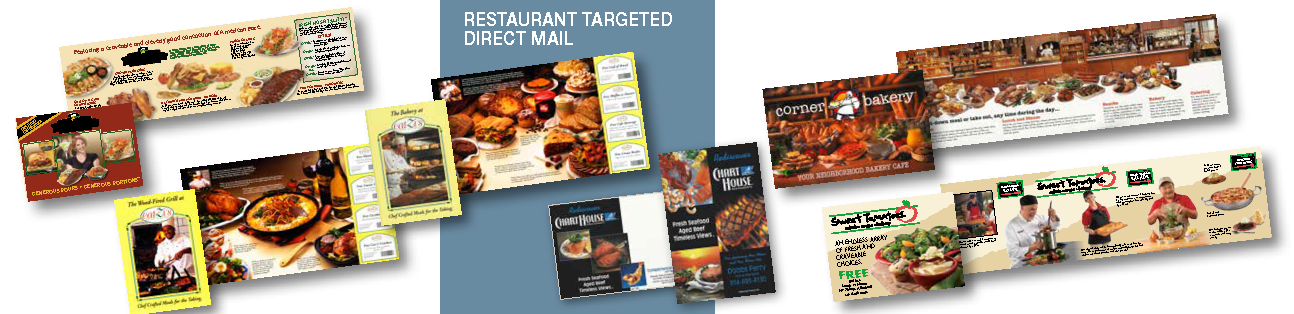 Restaurant Targeted Direct Mail