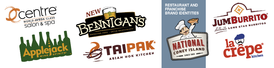 Restaurant and Franchise Brand Identities