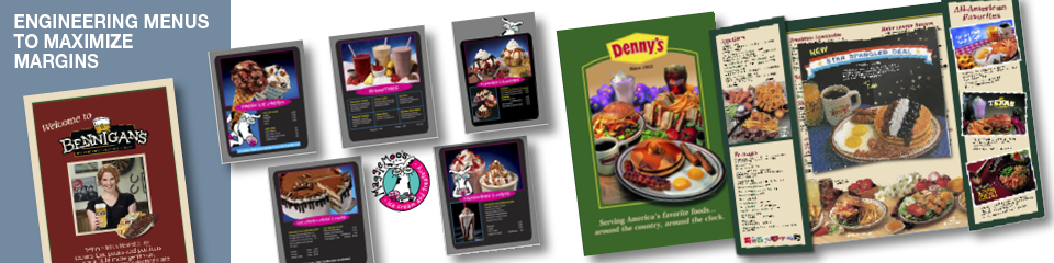 Restaurant Marketing Consultants: Menu engineering and menu design by Ellish Marketing Group