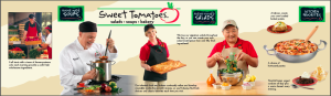 Sweet Tomatoes direct mailer by Ellish Marketing Group